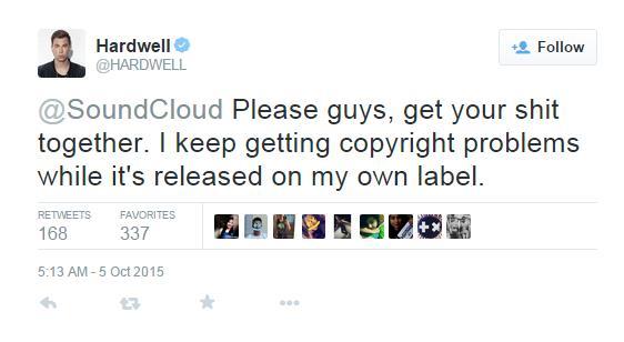 Hardwell Twitter
