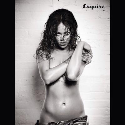 Rihanna nuda su Esquire