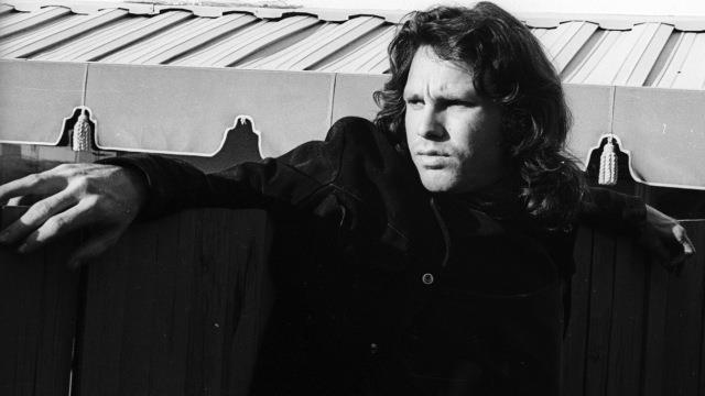 Jim Morrison dei Doors in una foto d'epoca