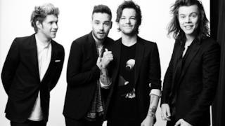 Gli One Direction sulla copertina di Home
