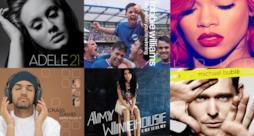 Album di Adele, Rihanna, Amy Winehouse e altri artisti