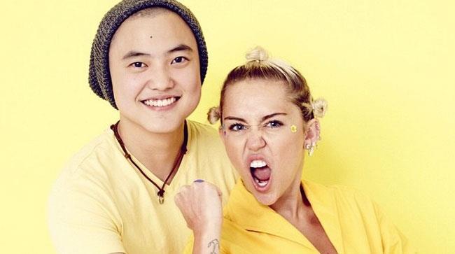 Miley Cyrus e Leo Sheng