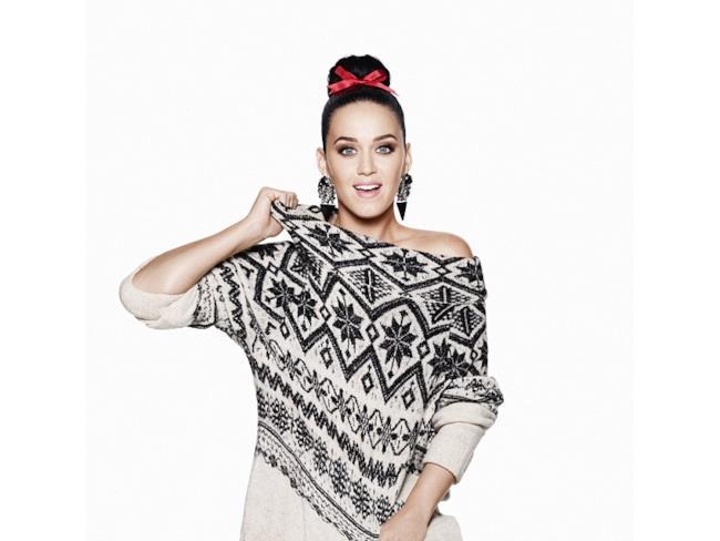 Katy ed H&M: collaborazione per il Natale