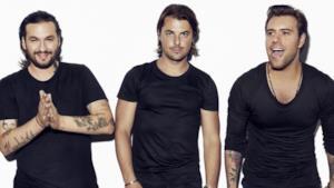 Il trio Swedish House Mafia