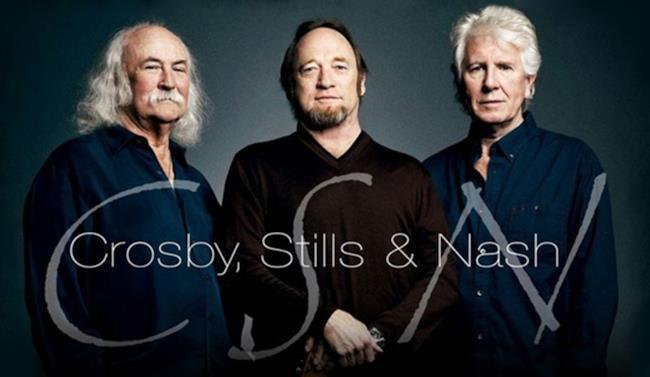 Il trio Crosby, Stills & Nash