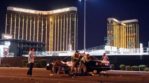 Las Vegas dopo l'attacco di Stephen Paddock