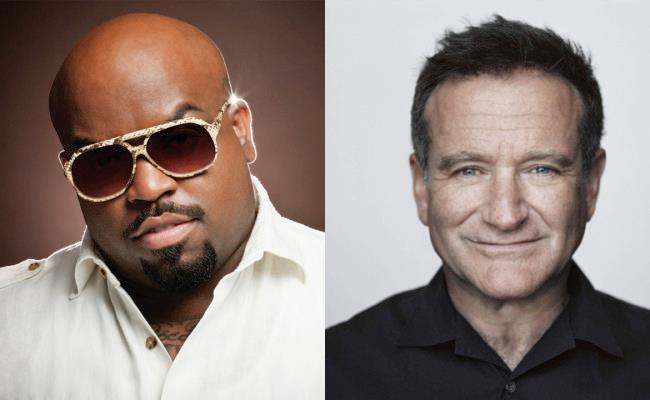 CeeLo Green e Robin Williams