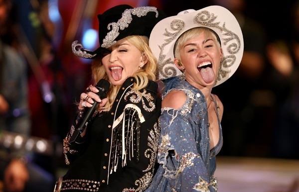 Madonna e Miley Cyrus MTV Unplugged