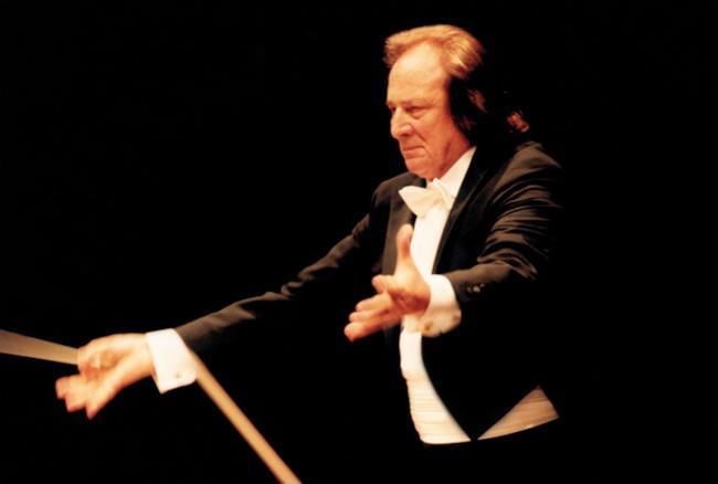 Riz Ortolani in concerto al teatro dell'Opera di Roma