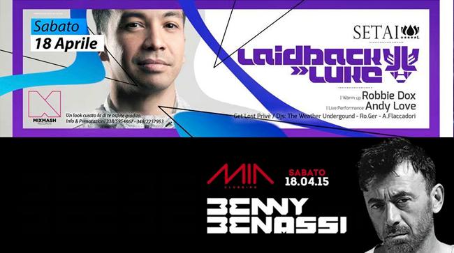 Il MIA Clubbing di Porto Recanati ospiterà Benny Benassi mentre Laidback Luke torna in Italia