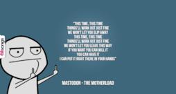 Mastodon: le migliori frasi delle canzoni