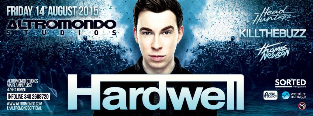 Hardwell Altromondo 14 agosto 2015