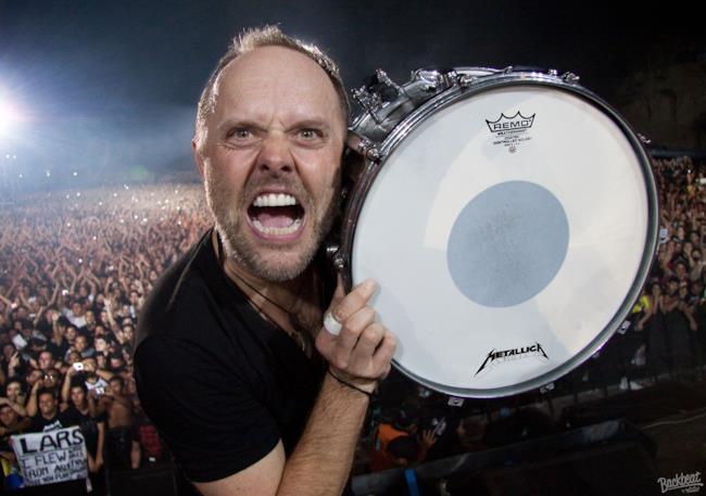 Lars Ulrich dei Metallica