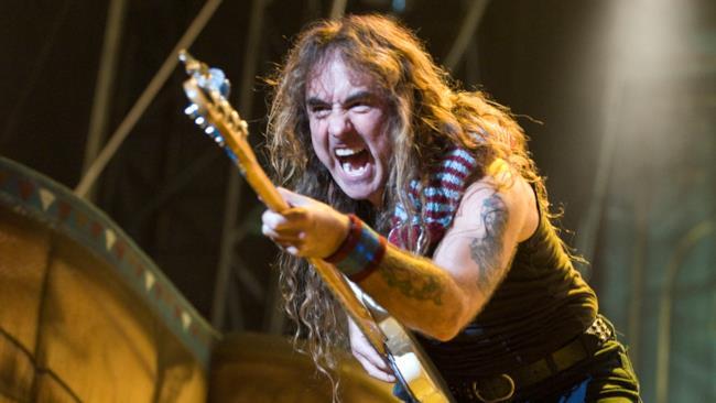 Steve Harris, bassista degli Iron Maiden