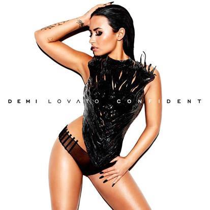 Demi Lovato sulla copertina di Confident, il nuovo disco 2015
