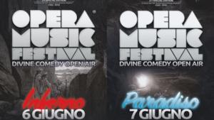La Divina Commedia incontra il mondo EDM all'internno dell'Opera Music Festival