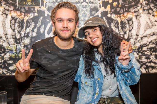 La bedda Alessia con Sir Zedd!