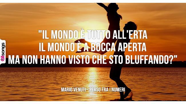 Mario Venuti: le migliori frasi dei testi delle canzoni