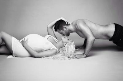 Christina Aguilera e il fidanzato Matthew Rutler
