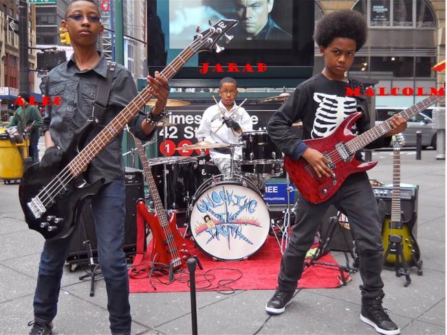 Unlocking The Truth sono tre ragazzini neri di New York