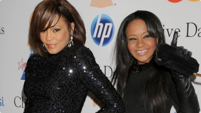 Bobby Kristina Brown e Whitney Houston