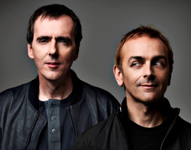 Il duo britannico Underworld