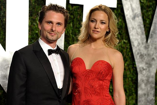 Matt Bellamy e Kate Hudson