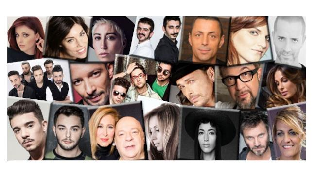 Tutti i 20 cantanti in gara a Sanremo 2015