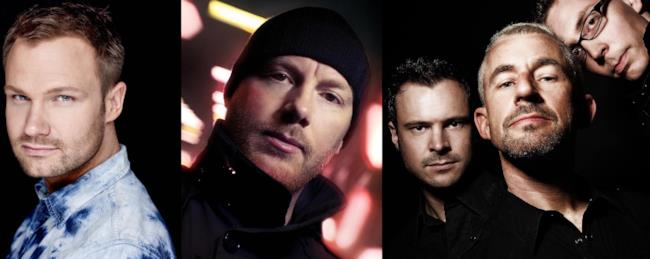 Dash Berlin, Eric Prydz, Above & Beyond