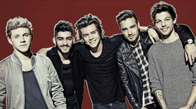 I componenti dei One Direction