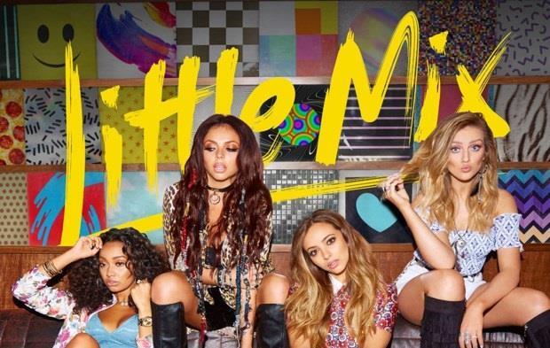 Le 4 componenti delle Little Mix sulla copertina di Get Weird