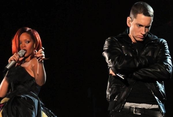Eminem e Rihanna sul palco insieme