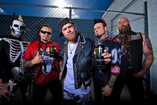 La band metal Five Finger Death Punch
