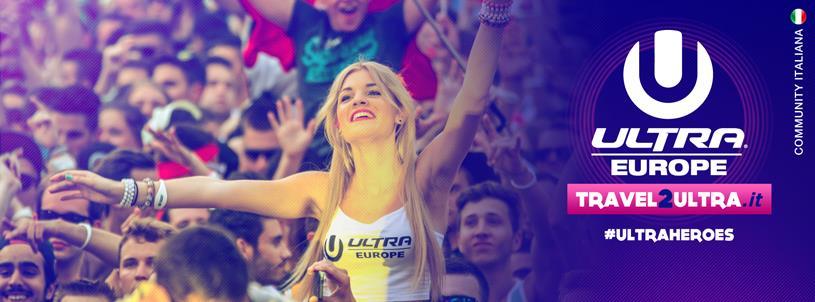 Travel 2 Ultra offre la possibilità di vivere l'Ultra Europe ad un prezzo vantaggioso