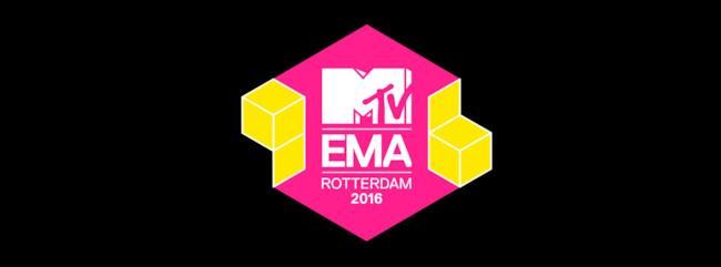 MTV EMAs 2016 Rotterdam logo
