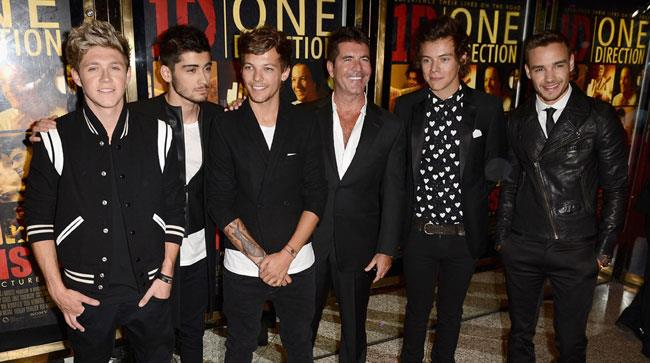 Simon Cowell e gli One Direction