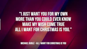 Michael Bublé: le migliori frasi dei testi delle canzoni
