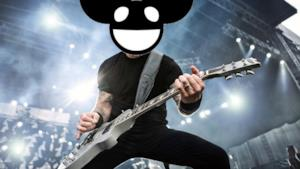 Deadmau5 sul corpo di James Hetfield