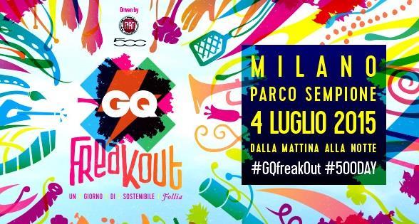 GQFreakOut Milano 4 luglio 2015