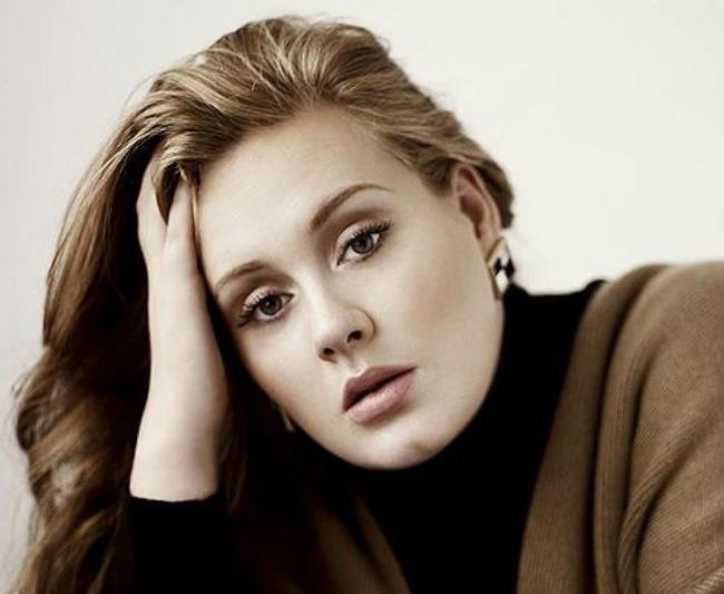 Un primo piano di Adele