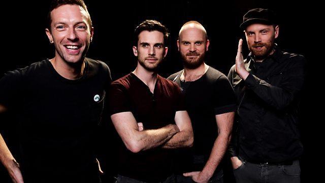 I 4 componenti della band inglese Coldplay