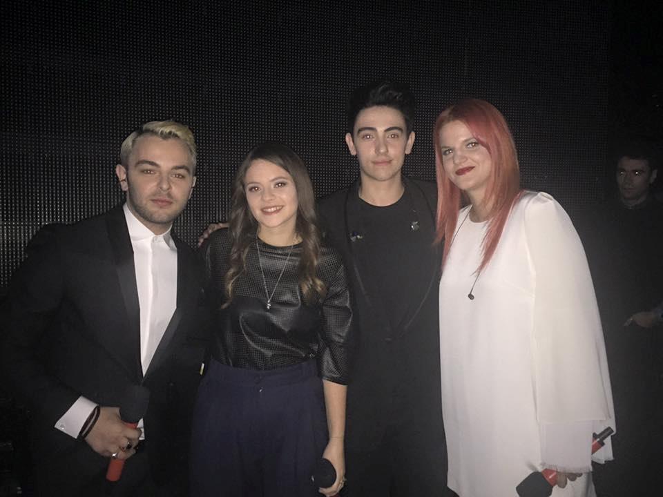 Lorenzo, Francesca, Michele e Chiara ospiti al quinto live di X Factor 9