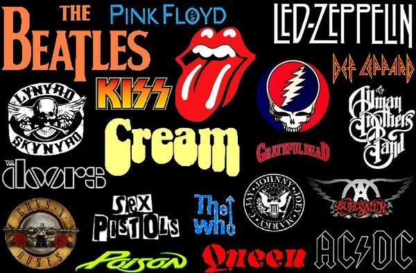 Loghi di rock band famose