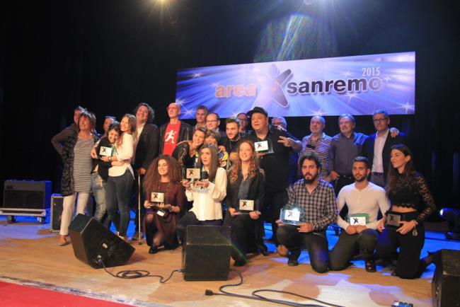 I finalisti di Area Sanremo 2015