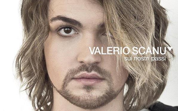 "Valerio Scanu, ""Sui nostri passi"" copertina"