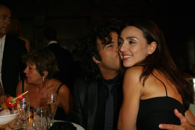 Un'immagine della coppia Renga-Angiolini