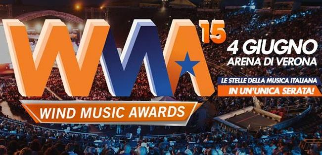 La locandina dei Wind Music Awards 2015