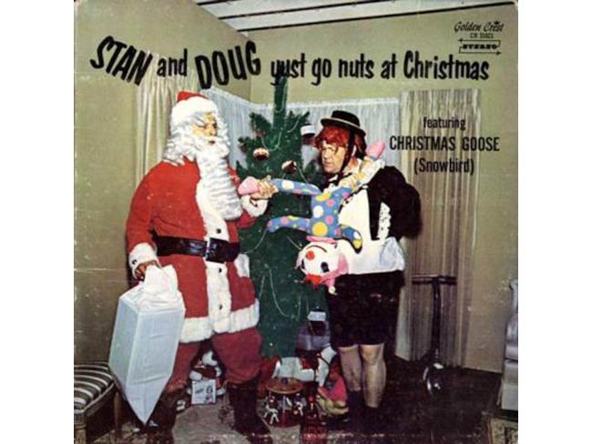 La copertina di Stan and Doug Yust Go Nuts at Christmas