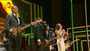 Grammy Awards Rihanna Bob Marley tribute