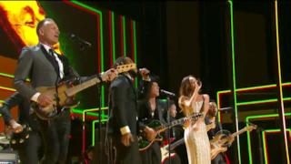 Grammy Awards Rihanna Bob Marley tribute